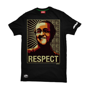 TMR PREMIUM RESPECT CORE-PATTERN T-SHIRT