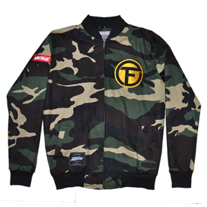ABSTRAX X TEMPATANFEST7 LIMITED EDITION PROJECT-CAMO JACKET
