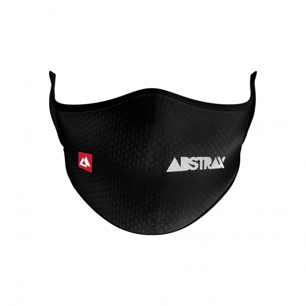 ABSTRAX® WASHABLE 2-LAYER MICROFIBER FACEMASK WITH POCKET (LOGOTYPE)