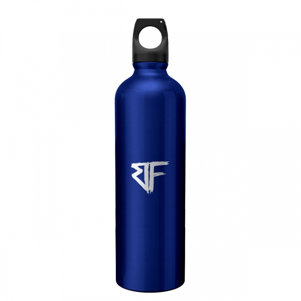 ABSTRAX® x Bunkface Stainless Steel Bottle Blue (650ml)