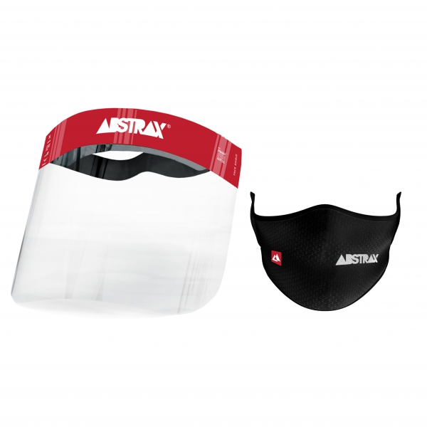 ABSTRAX® FACE SHIELD (FACE-MASK COMBO)