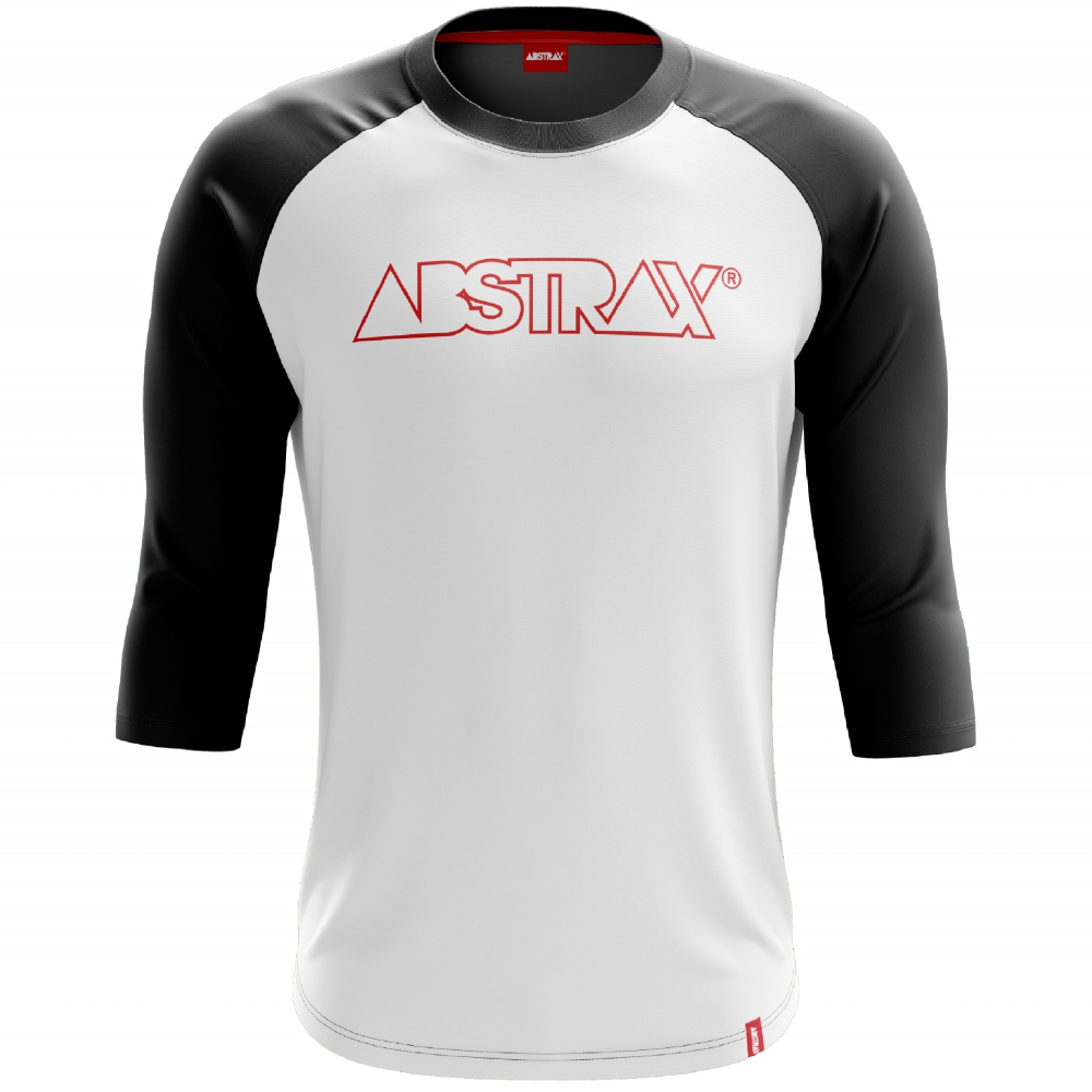 ABSTRAX LOGOTYPE OUTLINE SERIES COLLECTION RAGLAN SHIRT