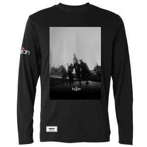 ABSTRAX x HUJAN #LIVEINLONDON LONG-SLEEVE SHIRT