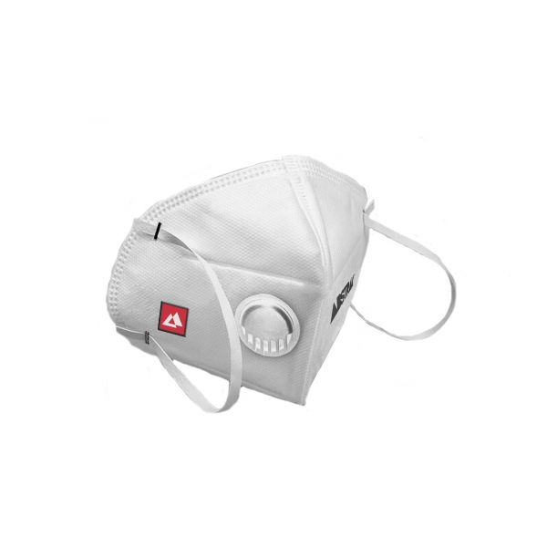 ABSTRAX® KN95 WHITE MASK WITH VALVE (1 PIECE) RESTOCK