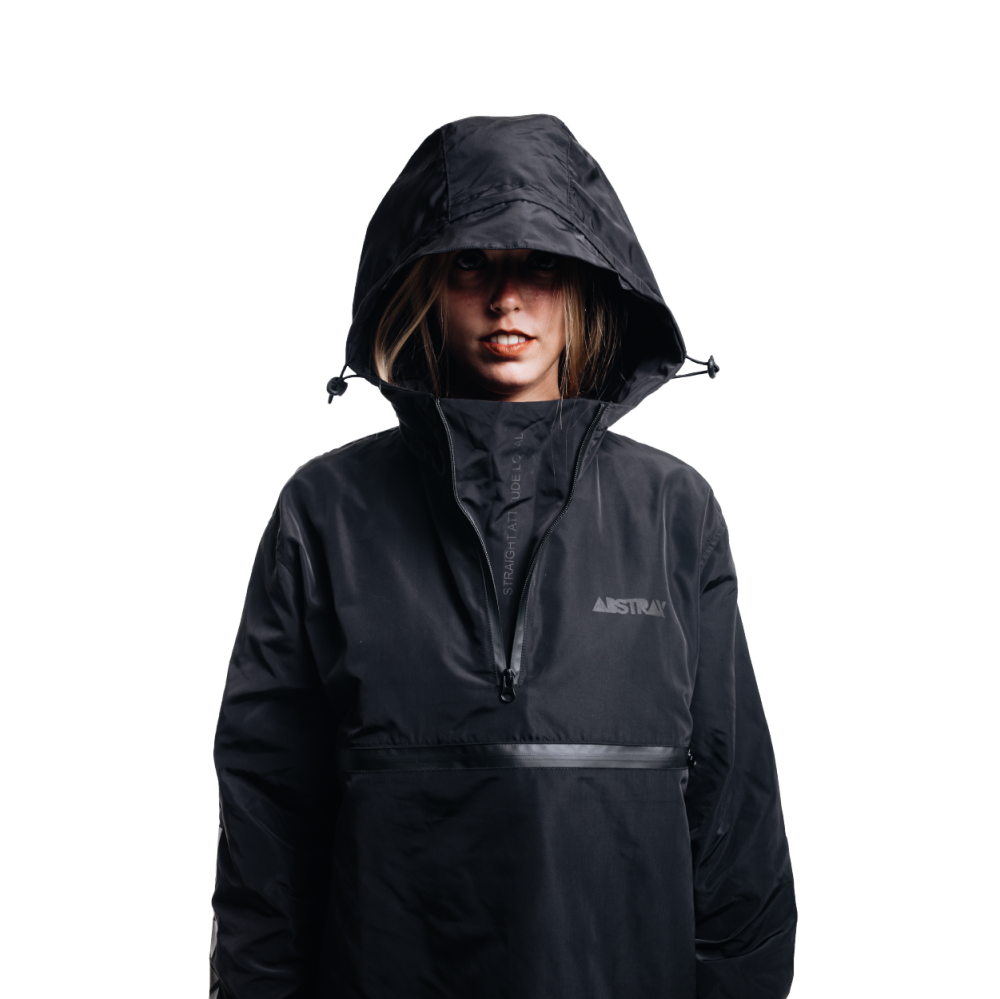 ABSTRAX ANORAK 4:29 BLACK STEALTH
