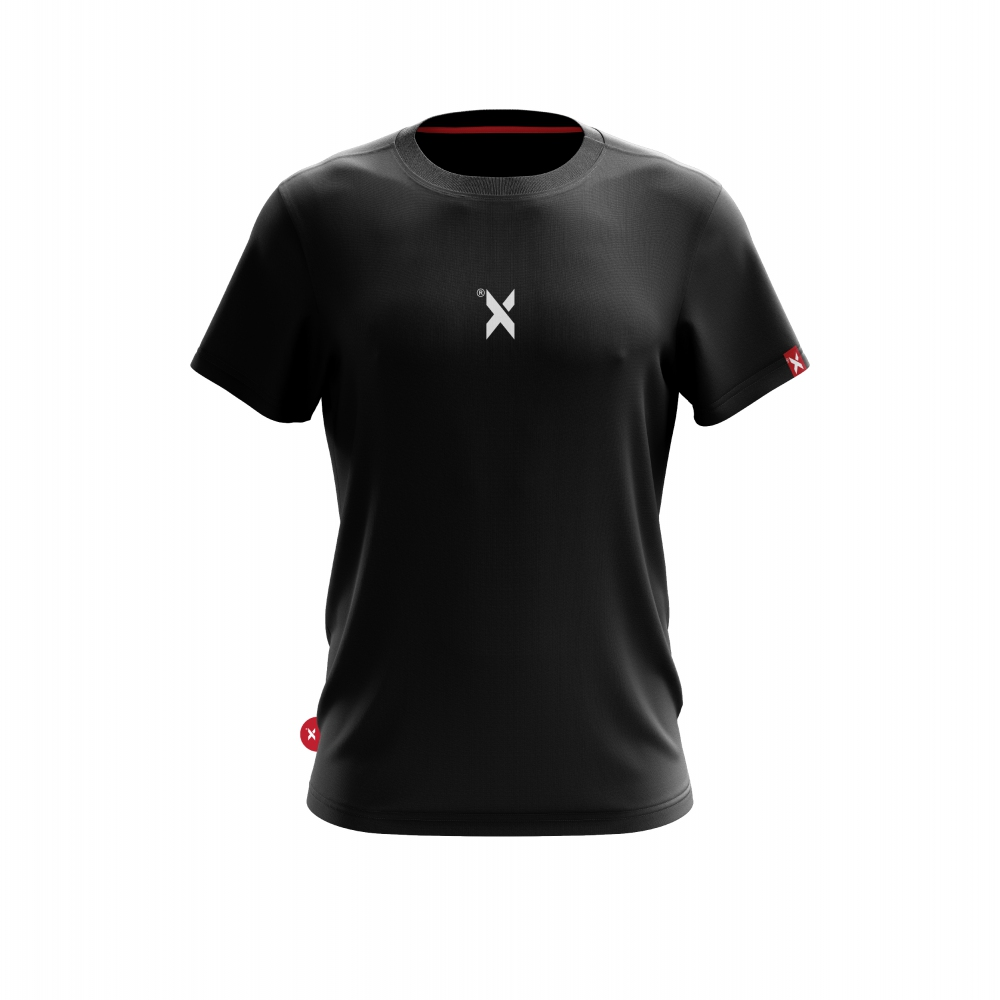 ABSTRAX DEKAD 'X' BLACK SHIRT (SHORT)