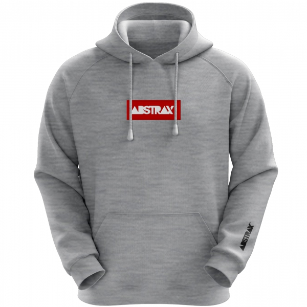 ABSTRAX® Logobox Hoodie (Grey-Misty)