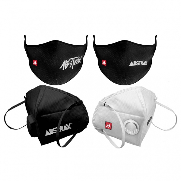 ABSTRAX® KN95 MASK AND WASHABLE MASK (COMBO)