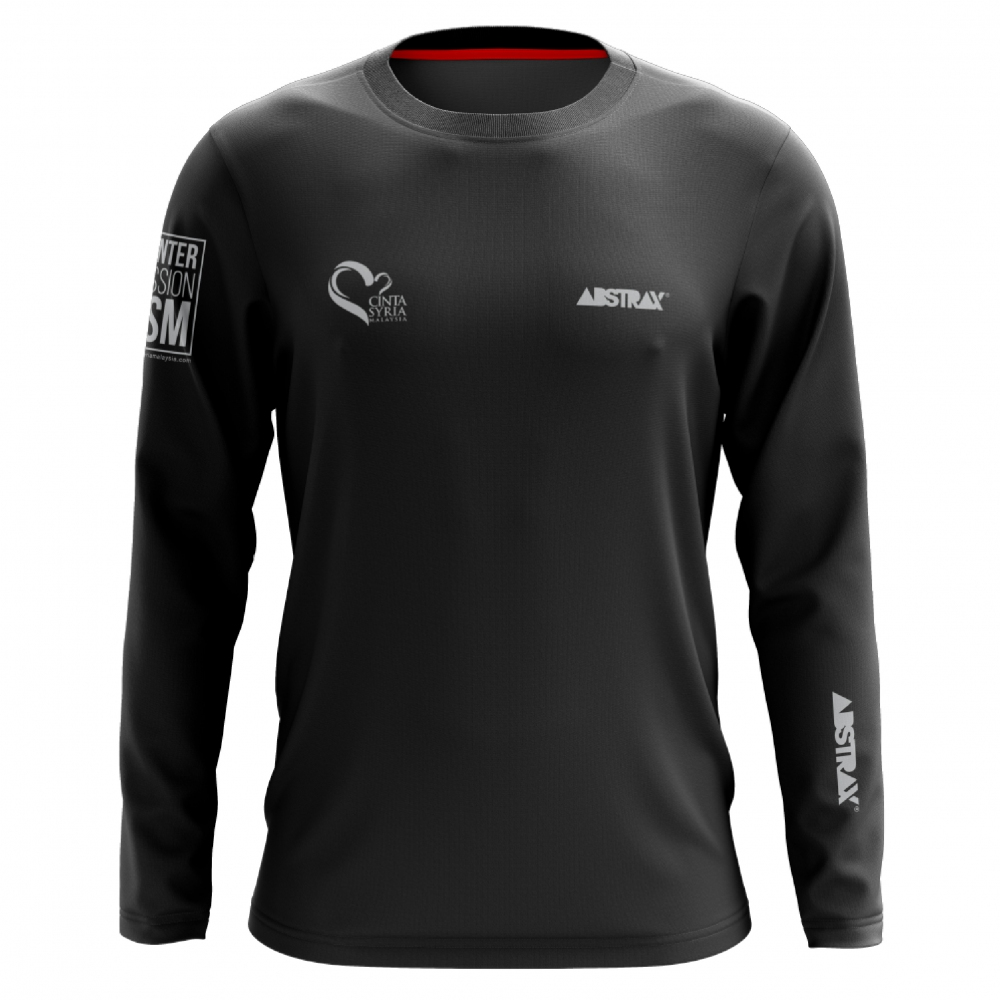 ABSTRAX ONE-FOR-ONE CINTASYRIAMALAYSIA LONG-SLEEVE SHIRT