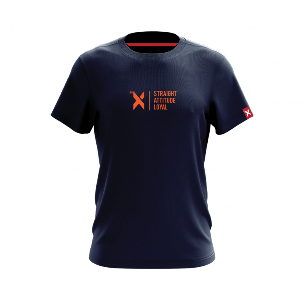 ABSTRAX DEKAD 'SAL' NAVY BLUE SHIRT (SHORT)