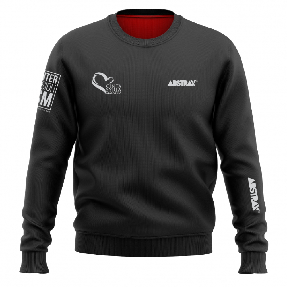 ABSTRAX ONE-FOR-ONE CINTASYRIAMALAYSIA SWEATSHIRT