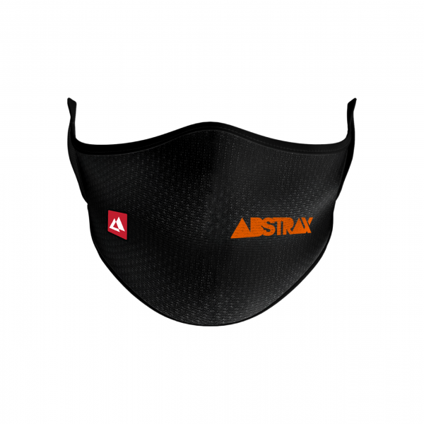 ABSTRAX® WASHABLE 2-LAYER MICROFIBER FACEMASK WITH POCKET JINGGA (LOGOTYPE)