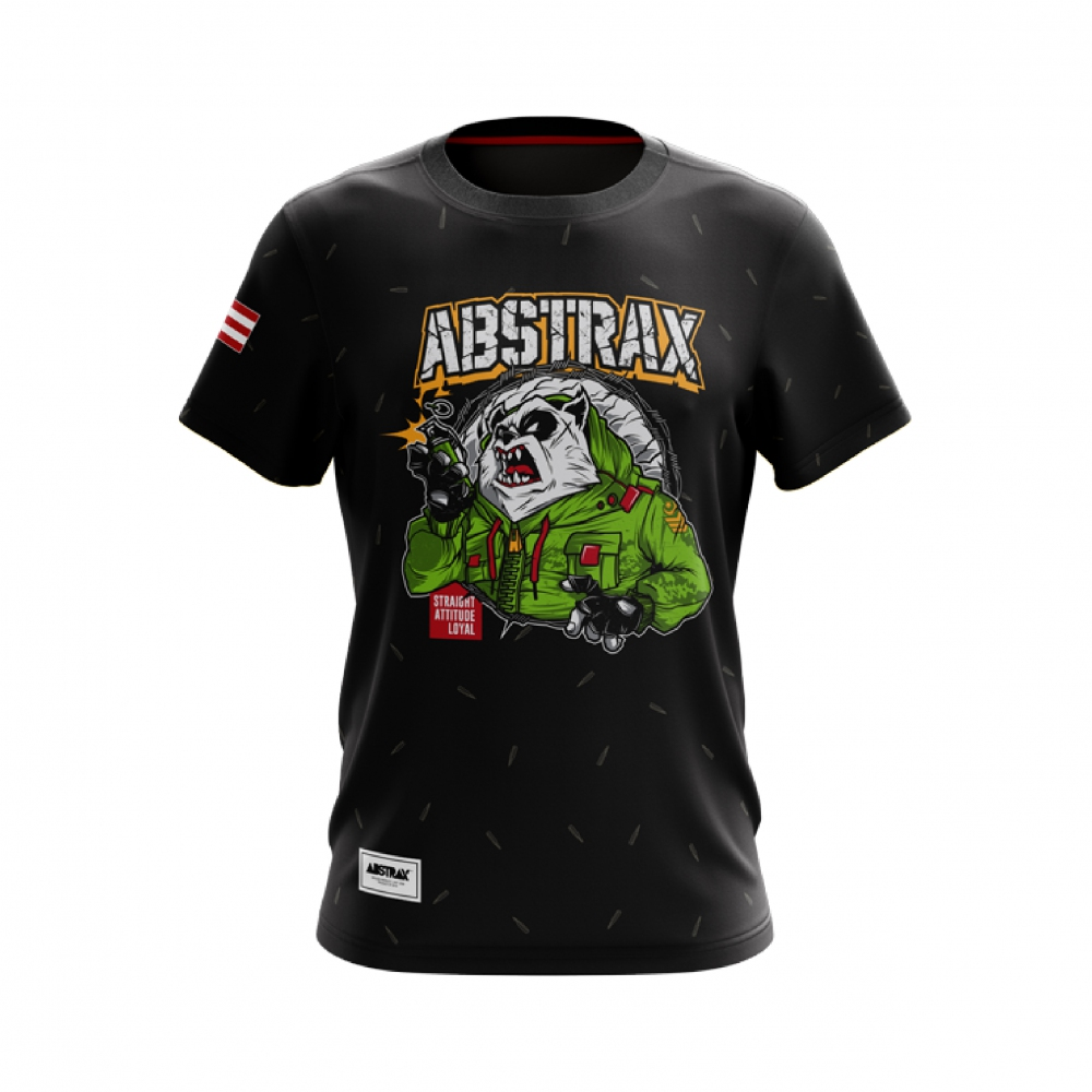 ABSTRAX TERRITORY PANDA ARMY SHORT-SLEEVE (LIMITED)