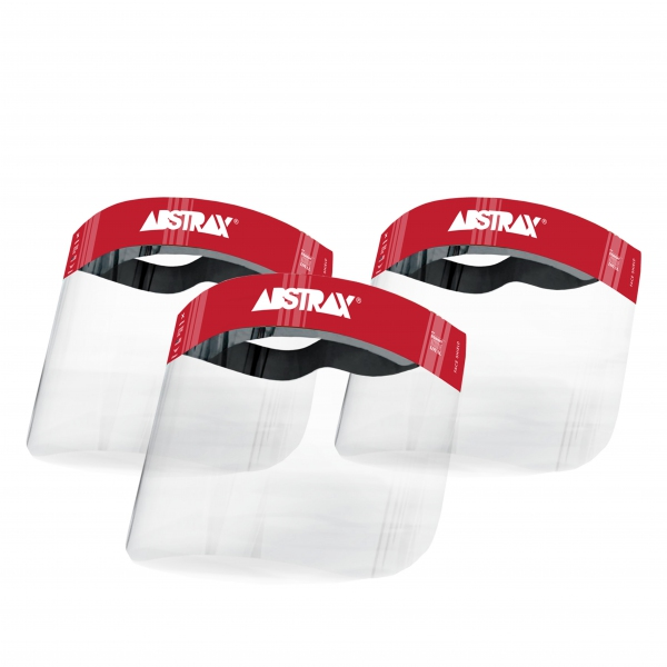 ABSTRAX® FACE SHIELD (LIMITED EDITION SET OF 3)