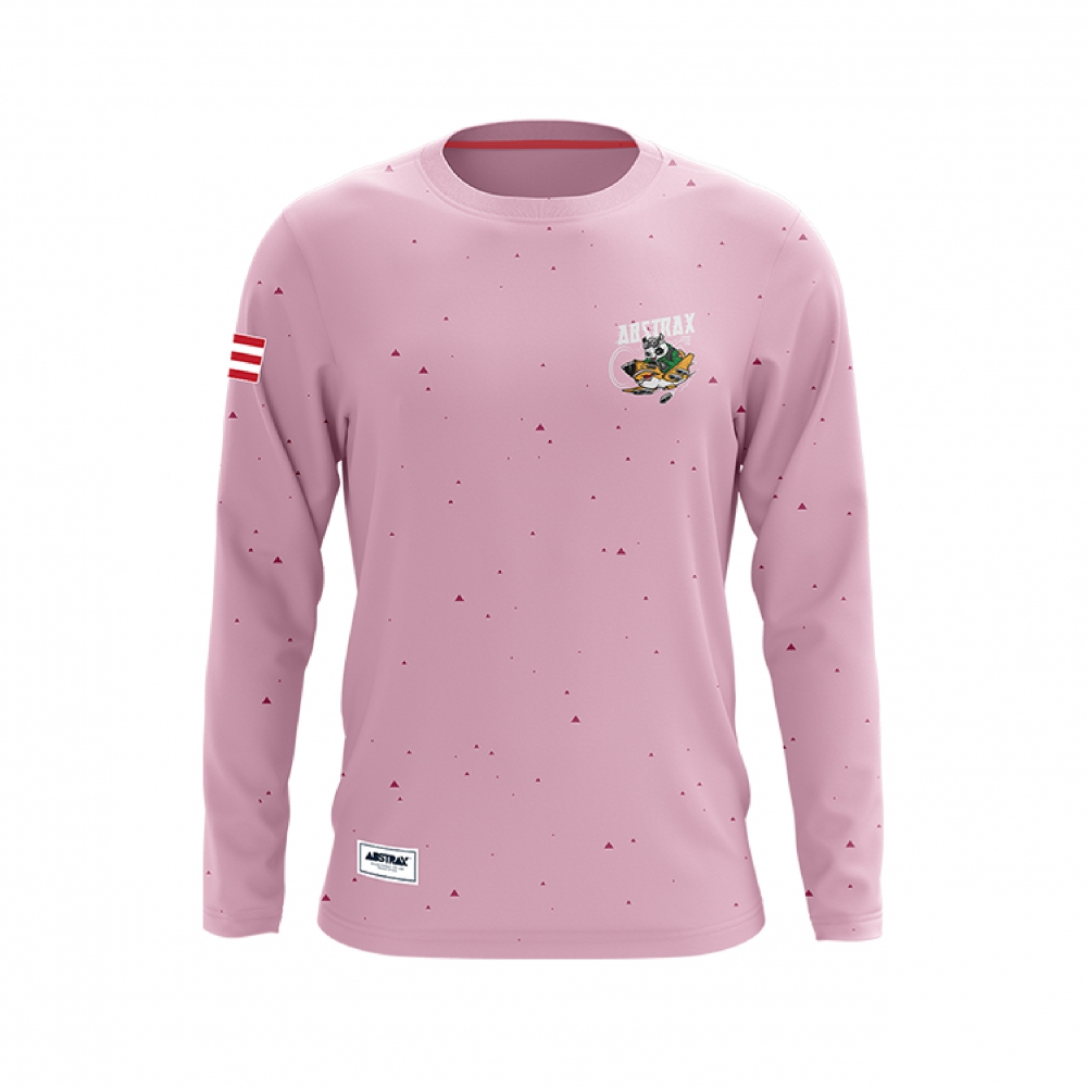 ABSTRAX TERRITORY PANDA AVIATOR PINK LONG-SLEEVE (LIMITED)