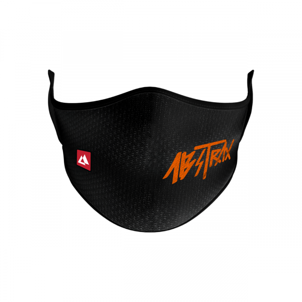 ABSTRAX® WASHABLE 2-LAYER MICROFIBER FACEMASK WITH POCKET JINGGA (HYPERLETTER)