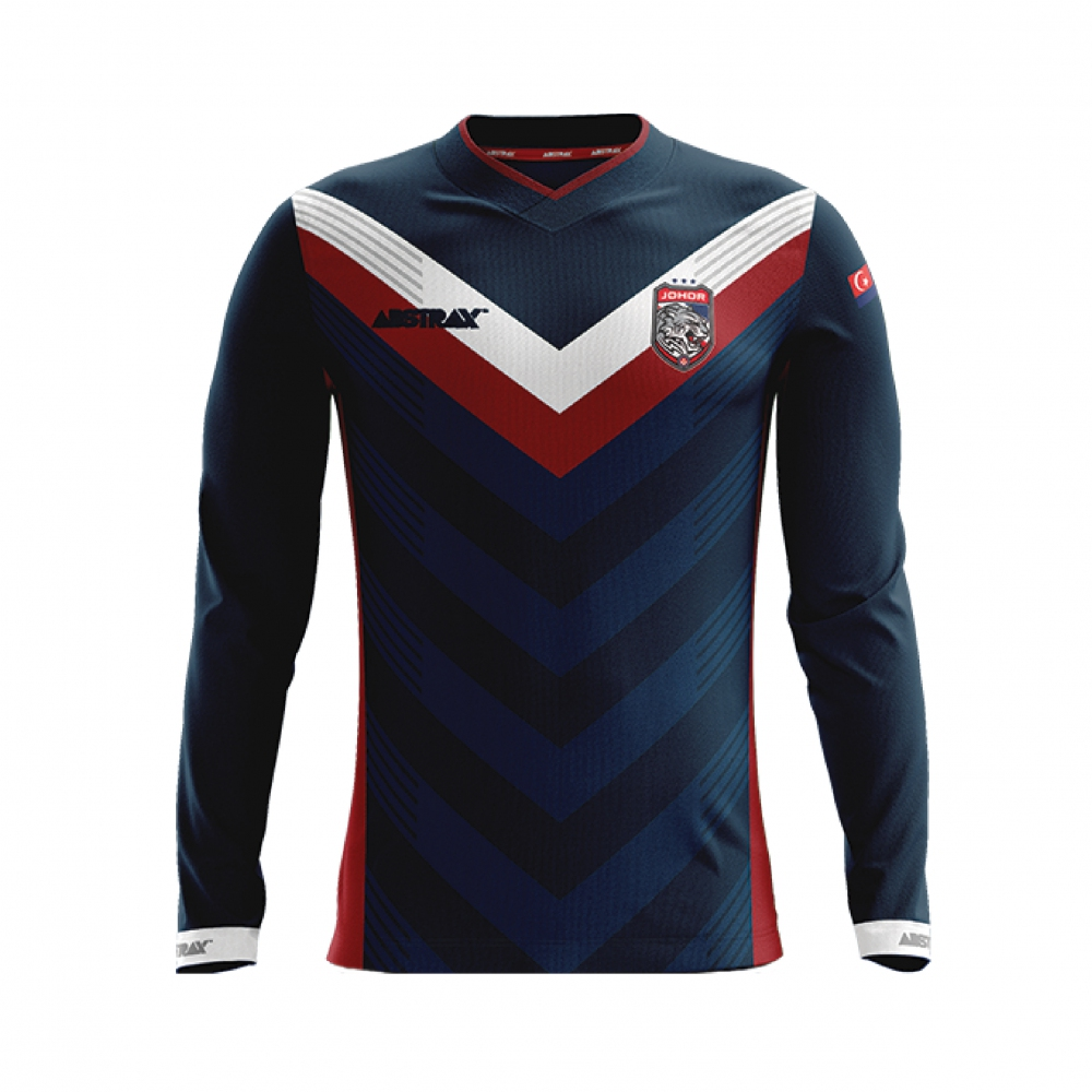 ABSTRAX VORTEX JOHOR STATE LONG SLEEVE JERSEY ( Extra Small )