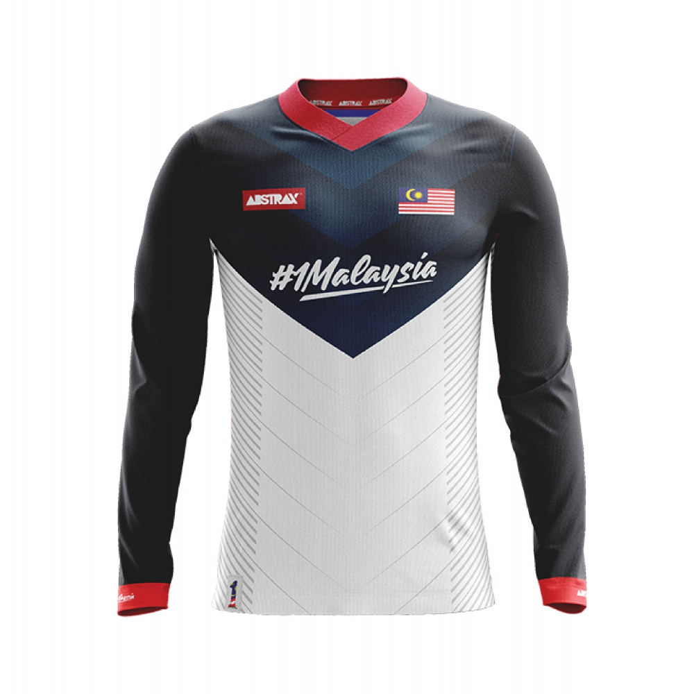 ABSTRAX VORTEX #1MYPERPADUAN LONG-SLEEVE JERSEY
