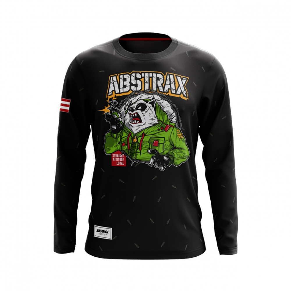ABSTRAX TERRITORY PANDA ARMY LONG-SLEEVE (LIMITED)