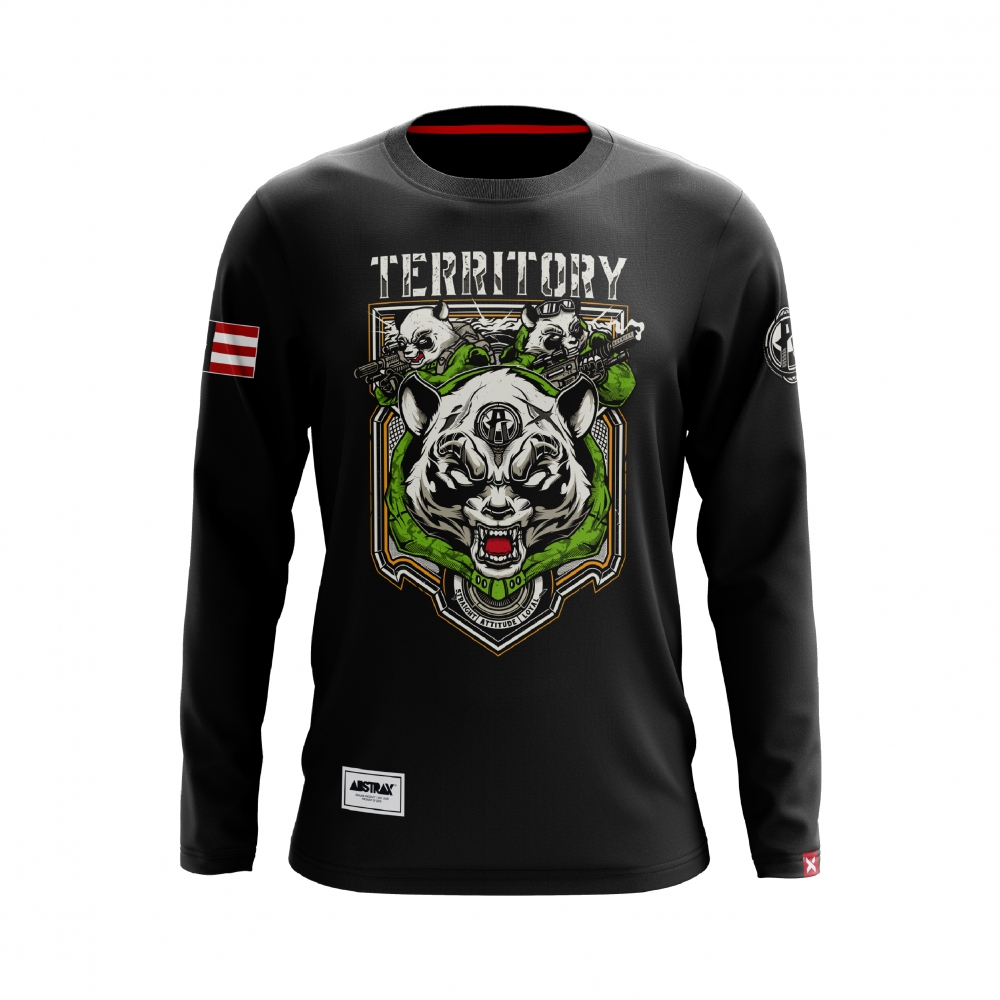 ABSTRAX PANDA TACTICAL LONG-SLEEVE (BLACK)