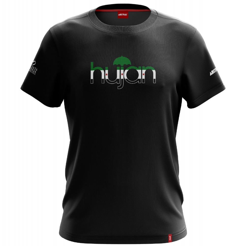 ABSTRAX x HUJAN SYRIA FLAG SHORT-SLEEVE SHIRT (LIMITED EDITION) ( 2X-Large )