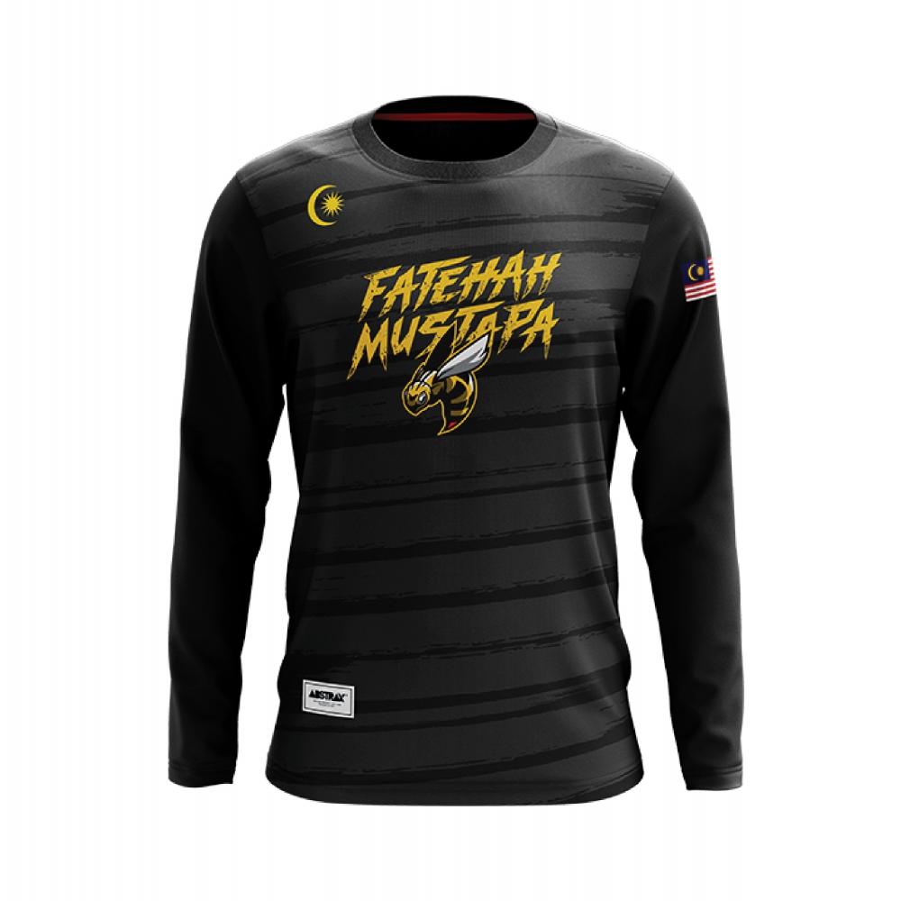 ABSTRAX #FATEHAHMUSTAPA LONG-SLEEVE BEE SHIRT