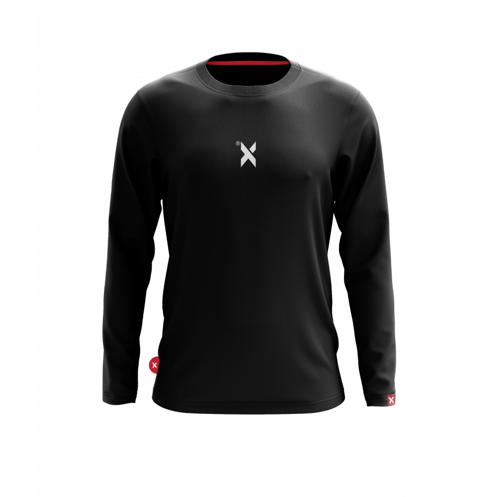 ABSTRAX DEKAD 'X' BLACK SHIRT (LONG)
