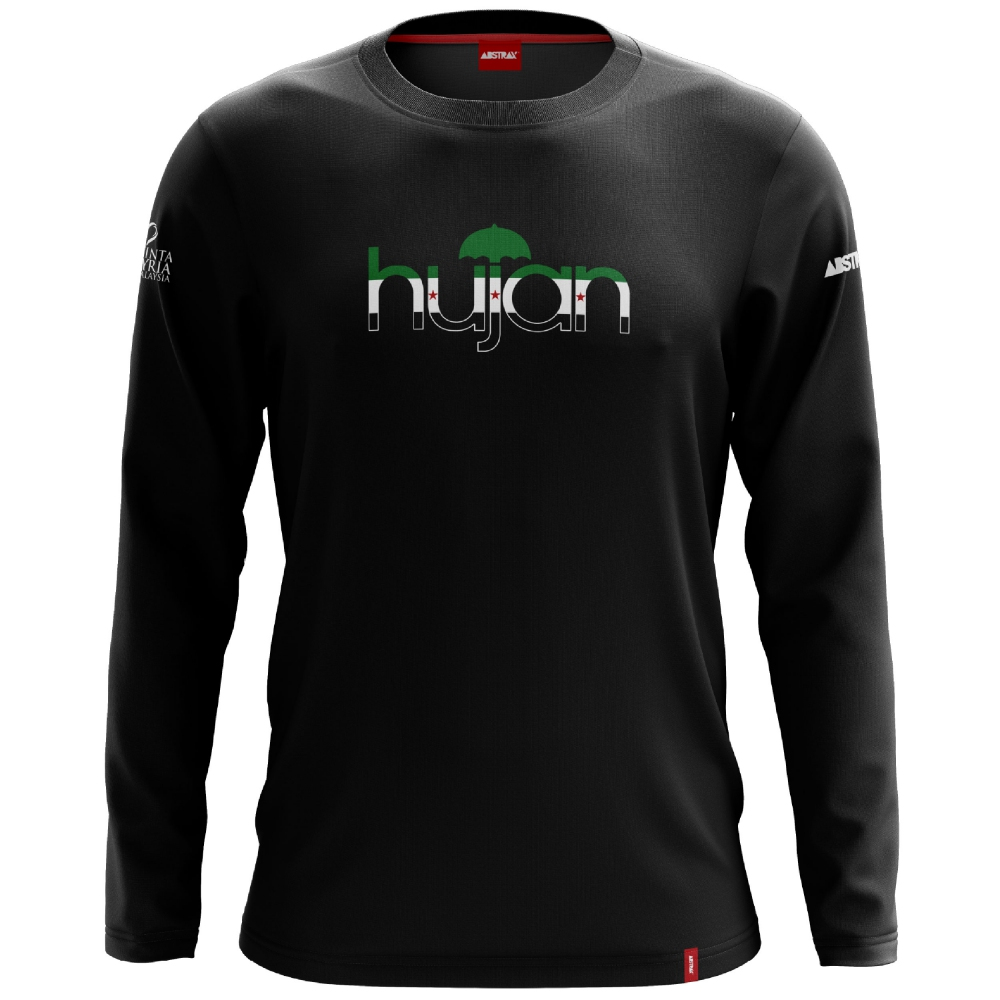 ABSTRAX x HUJAN SYRIA FLAG LONG-SLEEVE SHIRT (LIMITED EDITION)	 ( 2X-Large )