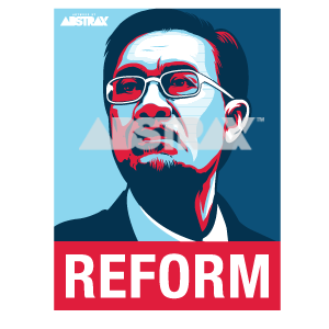 DSAI REFORM CAR-STICKER
